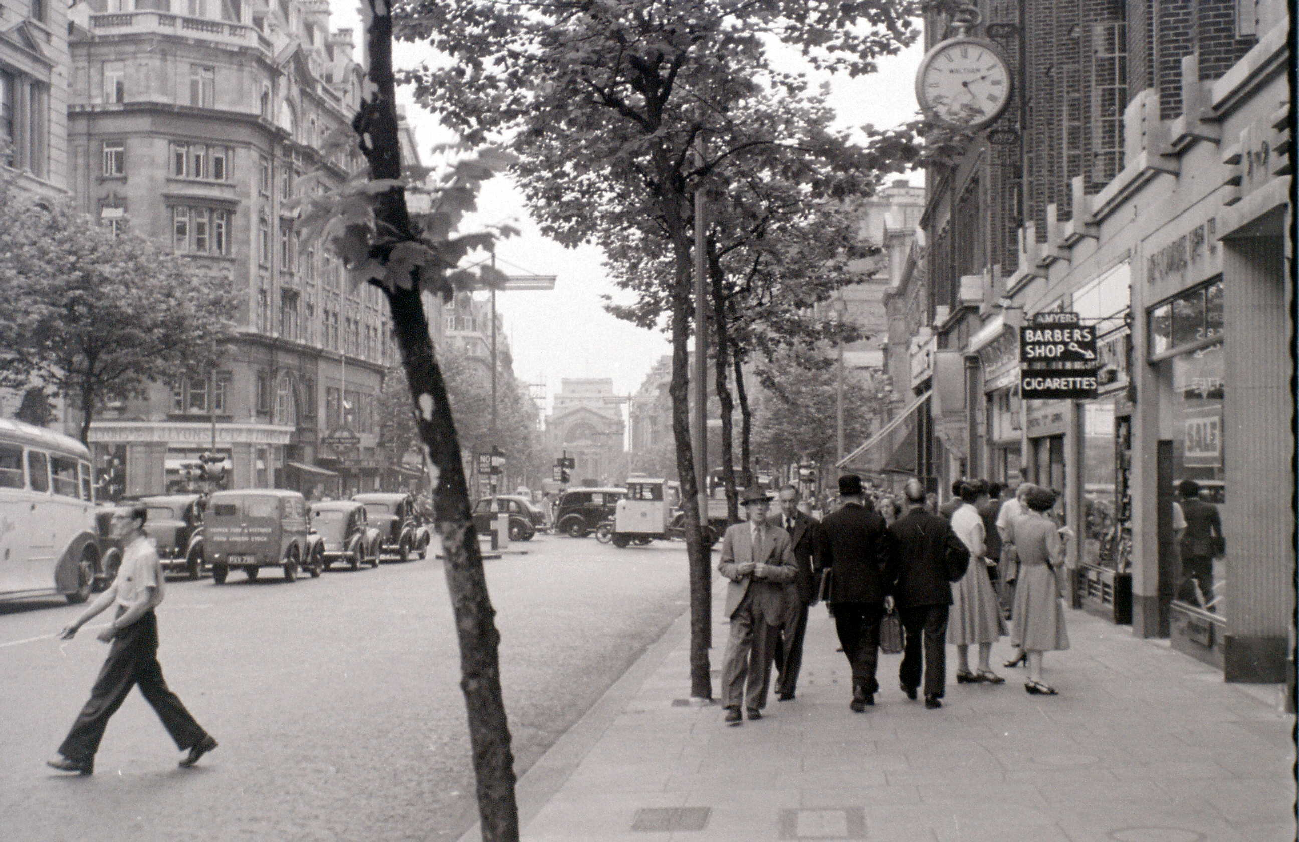 Southampton Row, London, 2 August 1955.