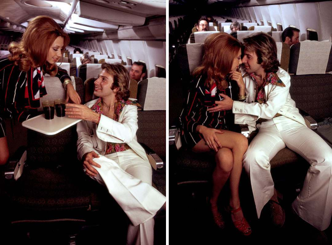 Stewardesses sex