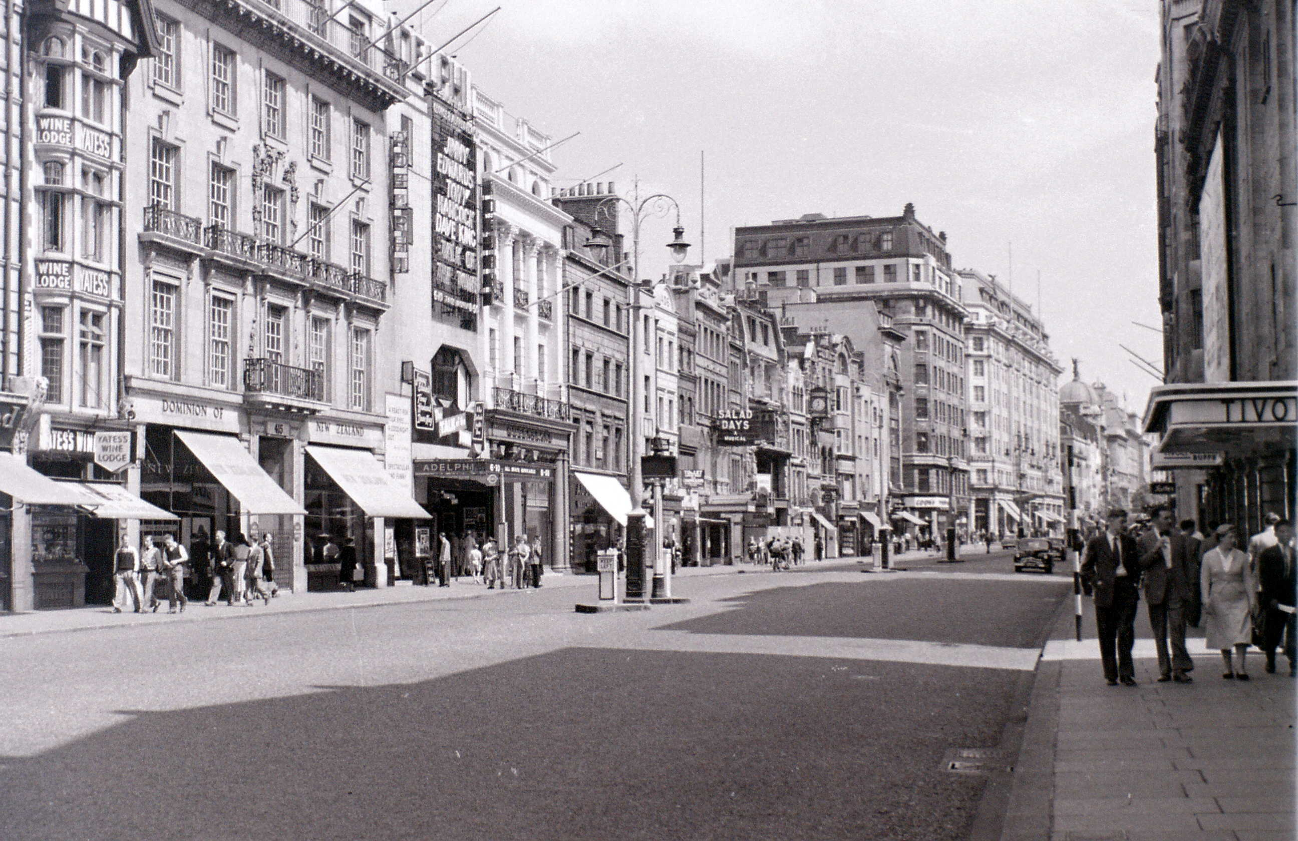 The Strand, London, 1 August 1955.