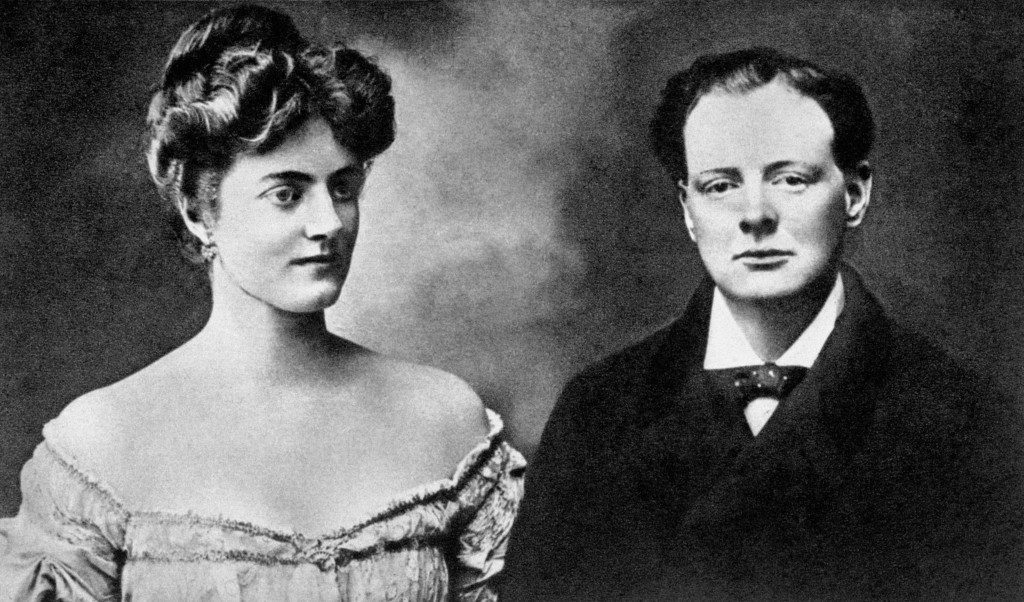 Politics - Winston Churchill and Clementine Hosier