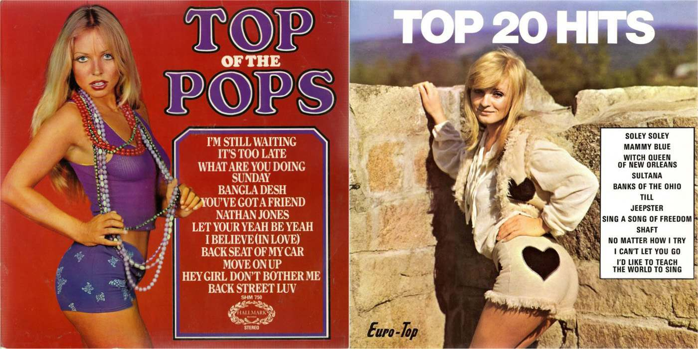 Chart Busting Babes 64 Top Hits Cheesecake Album Covers