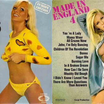Chart Busting Babes: 64 Top Hits Cheesecake Album Covers