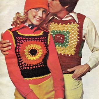 Yarnvertising: DIY Fashion Adverts of the 1970s