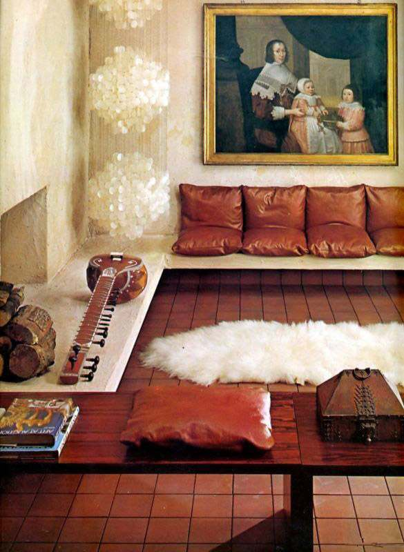 Fab And Funky Living Rooms Of The Seventies Flashbak