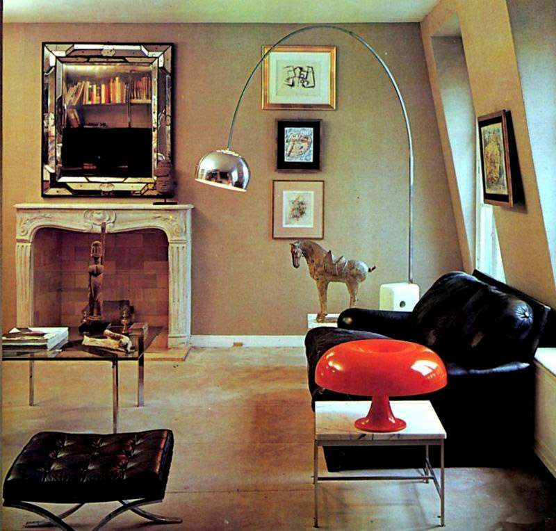 Fab and funky living rooms of the seventies for 1970s living room interior design