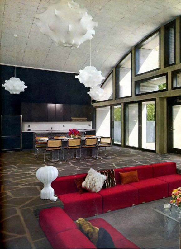 Fab And Funky Living Rooms Of The Seventies