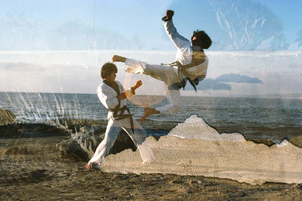 Karate Combat in La Jolla, December 1980.