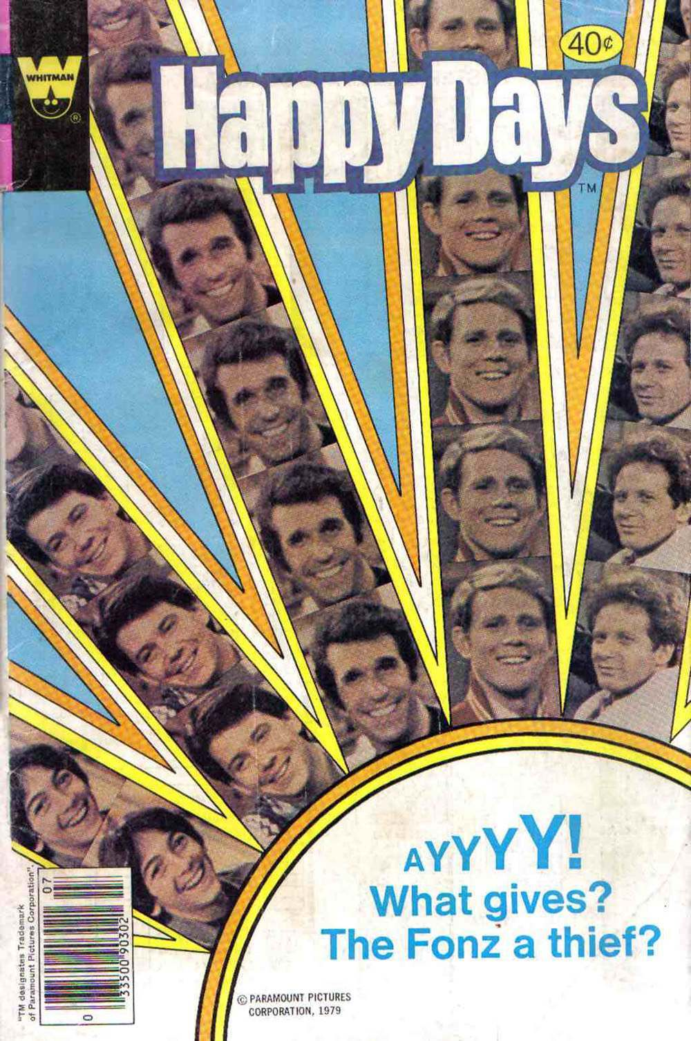 Happy Days, No. 3 (July 1979) Whitman