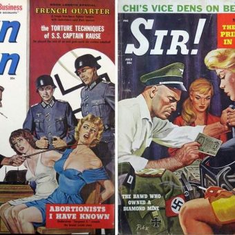 When Nazis Attack! Men's Action Mags and Hitler's Perverted Minions