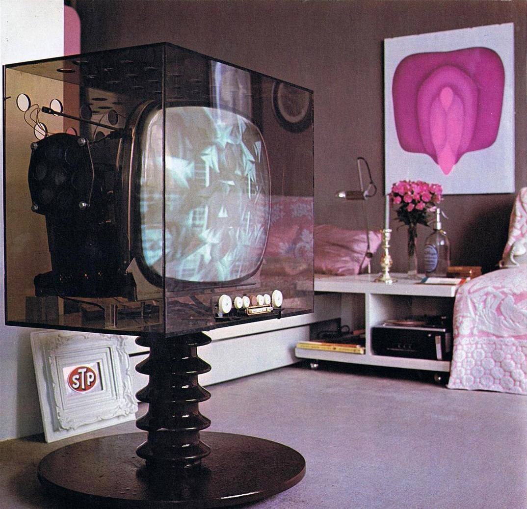 Magical Mystery Décor: Trippy Home Interiors Of The 60s