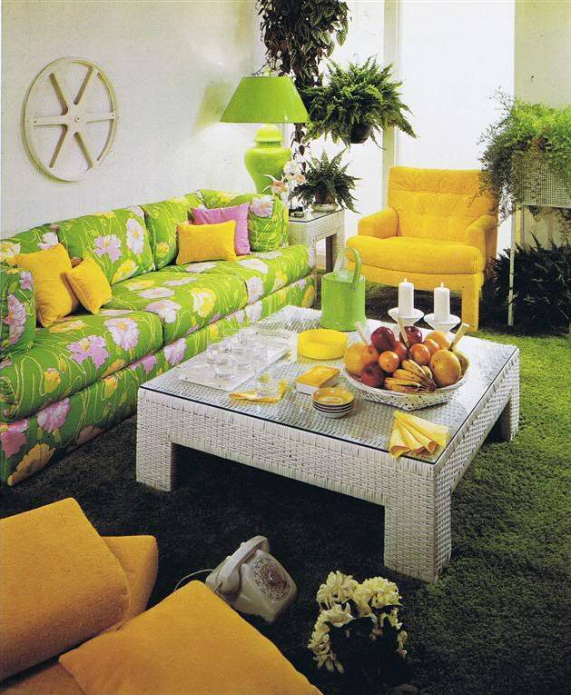 psychedelic decor  6. Magical Mystery D cor  Trippy Home Interiors of the 60s and 70s