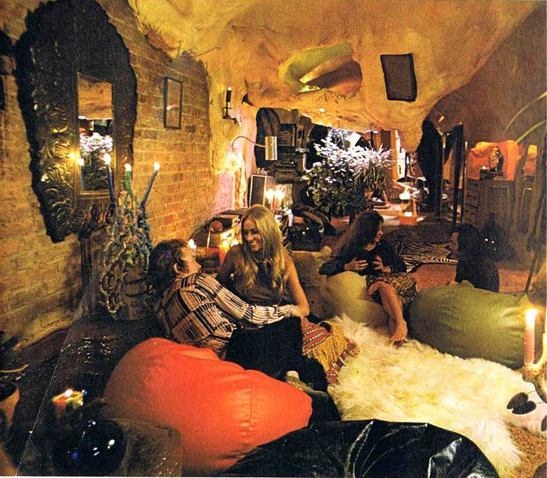 Magical Mystery Dcor Trippy Home Interiors of the 60s and 70s