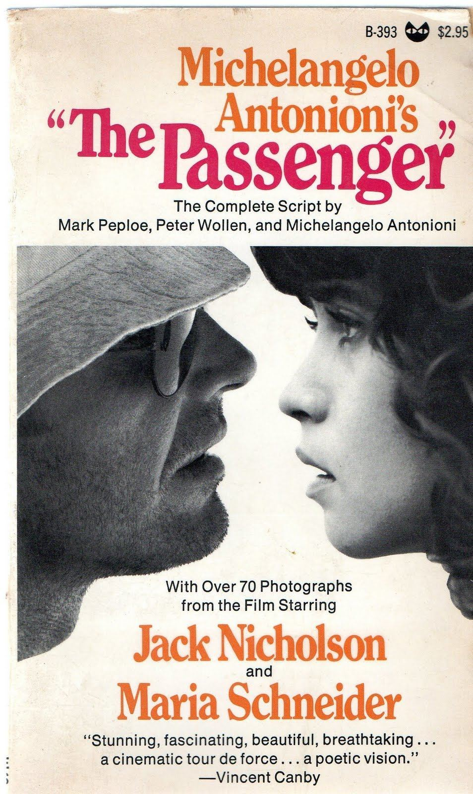 The script for 'The Passenger'.