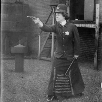 'The Woman Cop (A Dream)': Suffragette Imagines Being America's First Police Woman – 1908