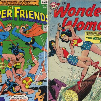 Dead Ringers! Bronze Age Wonder Woman Comic Cover Clones