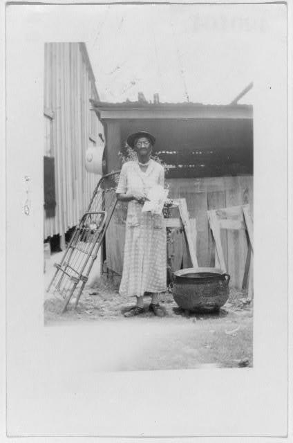 Josie Brown, ex-slave, Woodville (Beaumont)