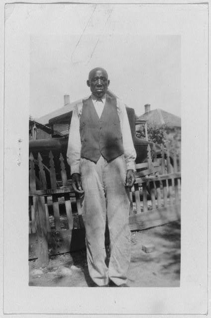 Albert Hill, ex-slave, Ft. Worth