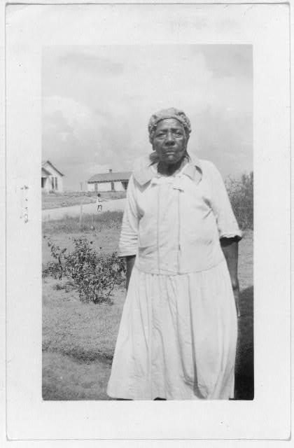 Betty Powers, ex-slave, Ft. Worth