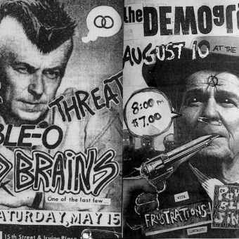 Dada For The Masses: The Joy of DIY Punk Posters and Flyers