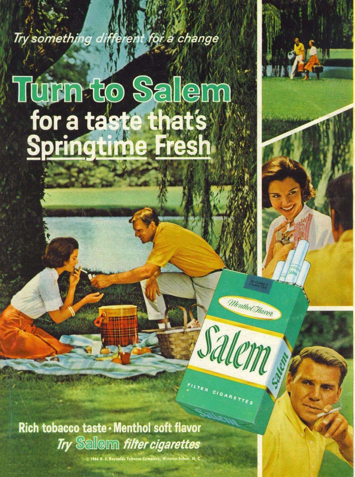 1966 Salem Cigarettes