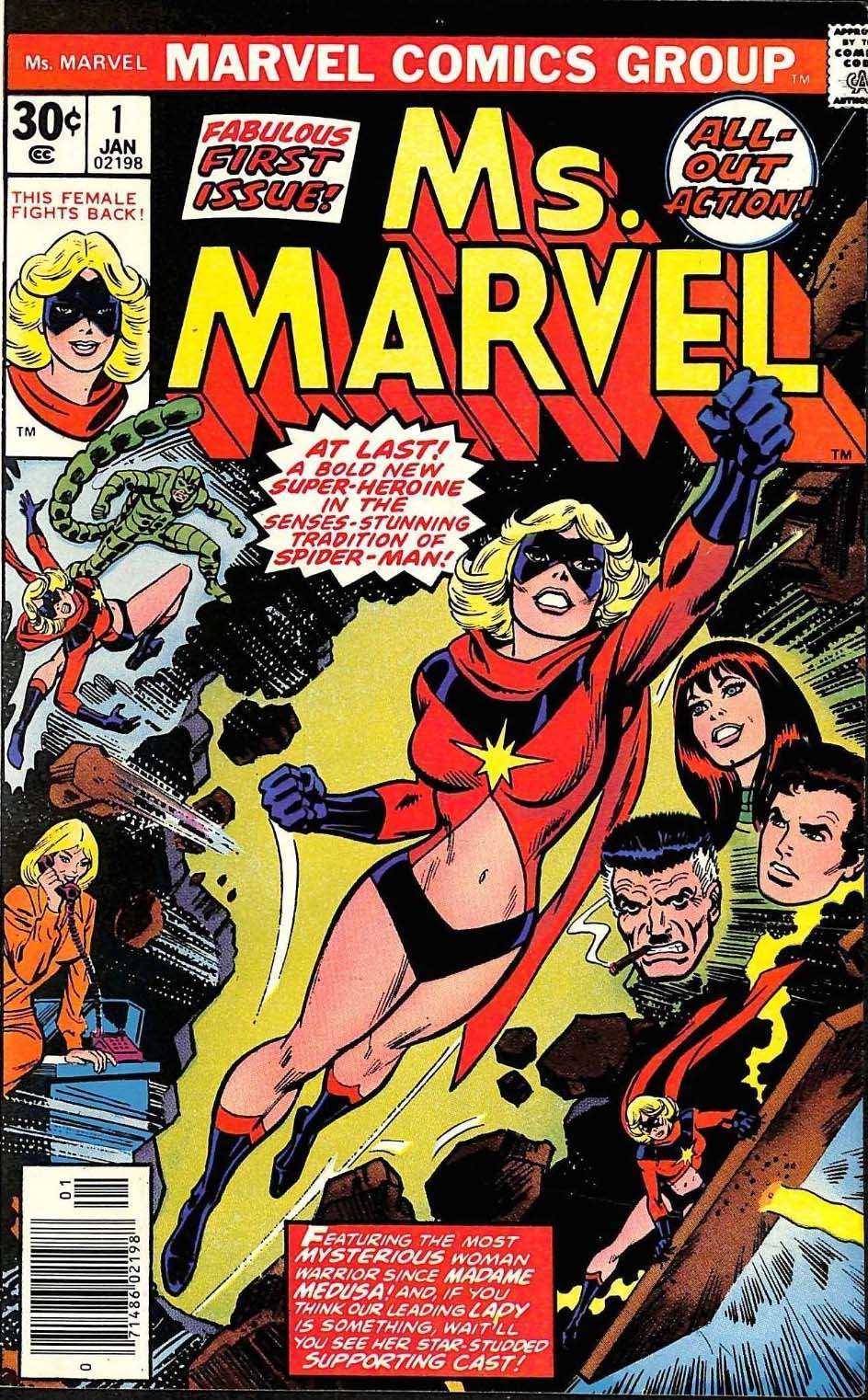 feminism fail: ms. marvel comics in the 1970s - flashbak