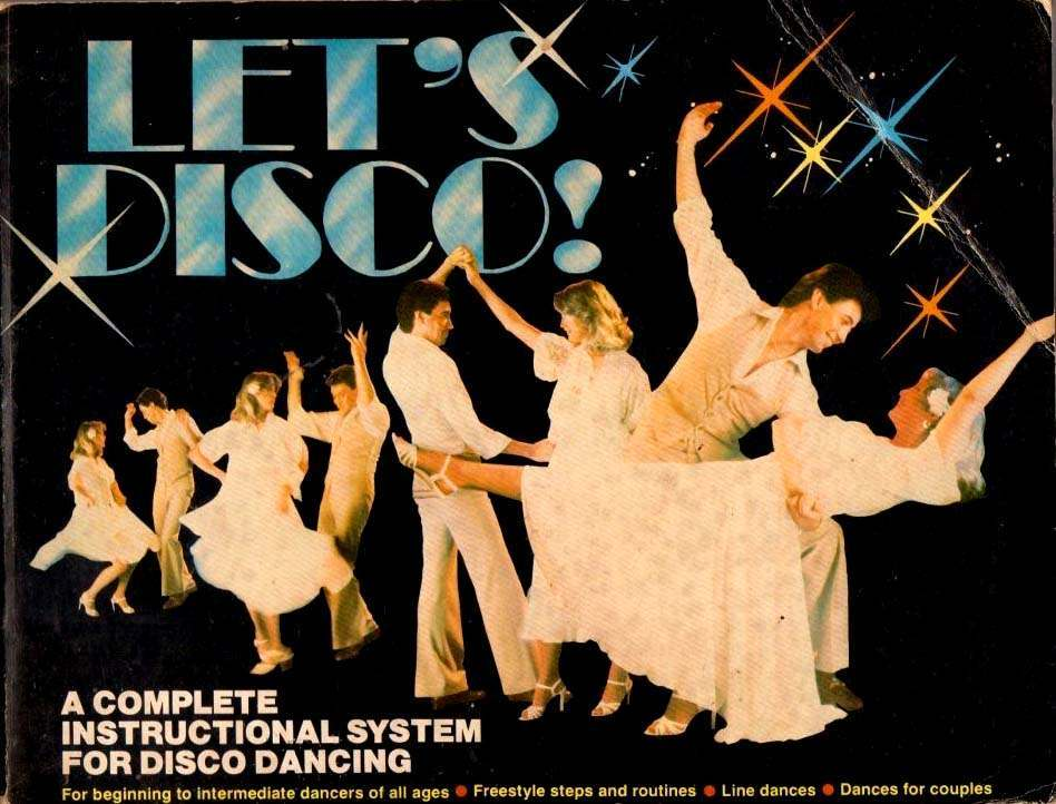 1978 K-Tel Let's Disco Dance Instruction Complete system