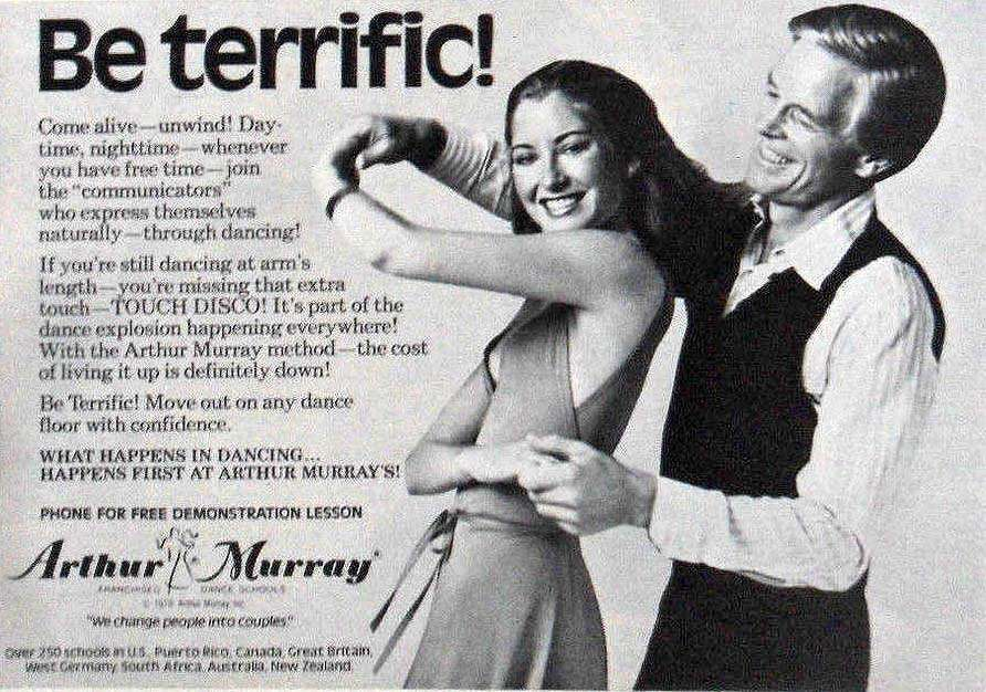 1978 Print Ad Aruther Murray Dance Schools