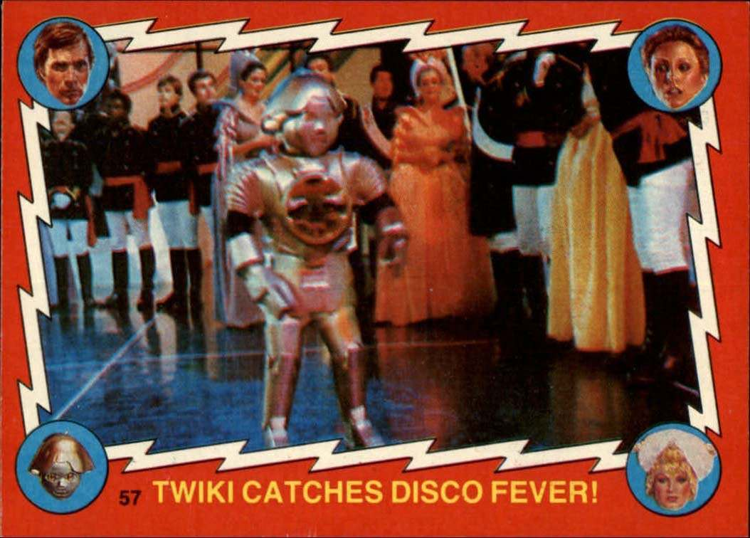 1979 Buck Rogers #57 Twiki Catches Disco Fever