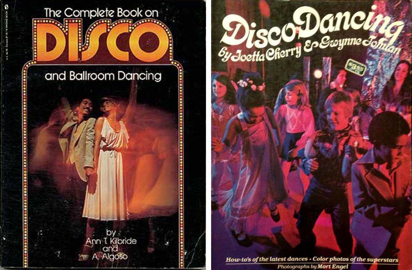 1979 Vintage The Complete Book on Disco and Ballroom Dancing by Ann T Kilbride