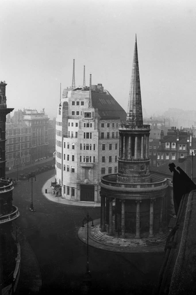 BBC Broadcasting House in 1932