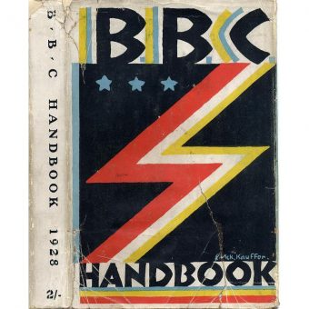 Thirteen Fabulous BBC Year Book Covers from 1928 – 1966