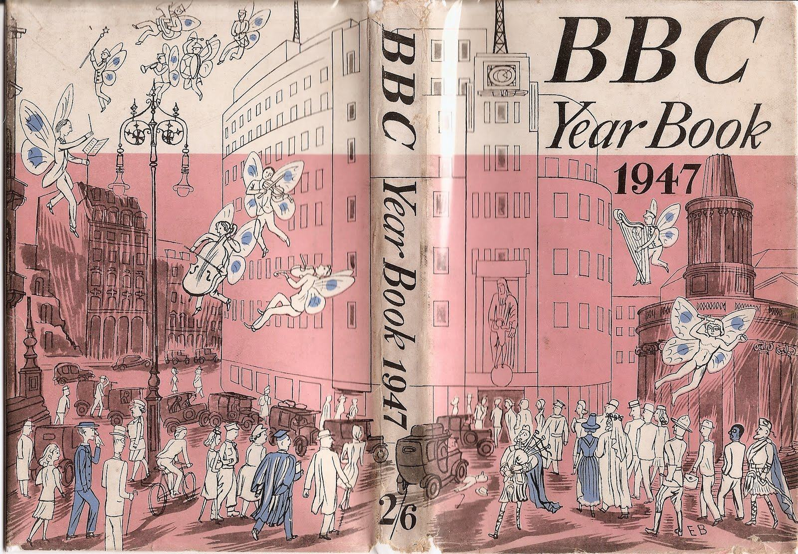 BBC Year Book 1947 designed by Edward Bawden