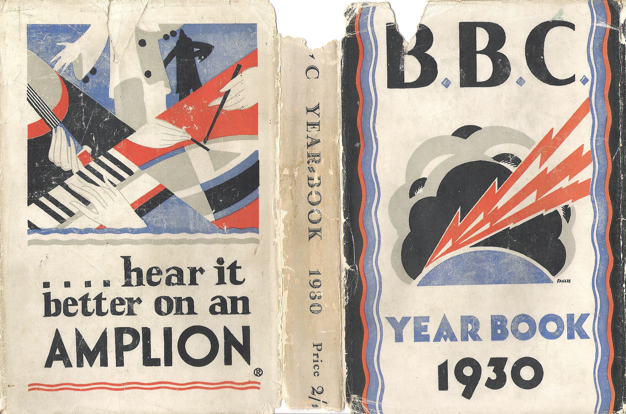 BBC Yearbook 1930 Jacket