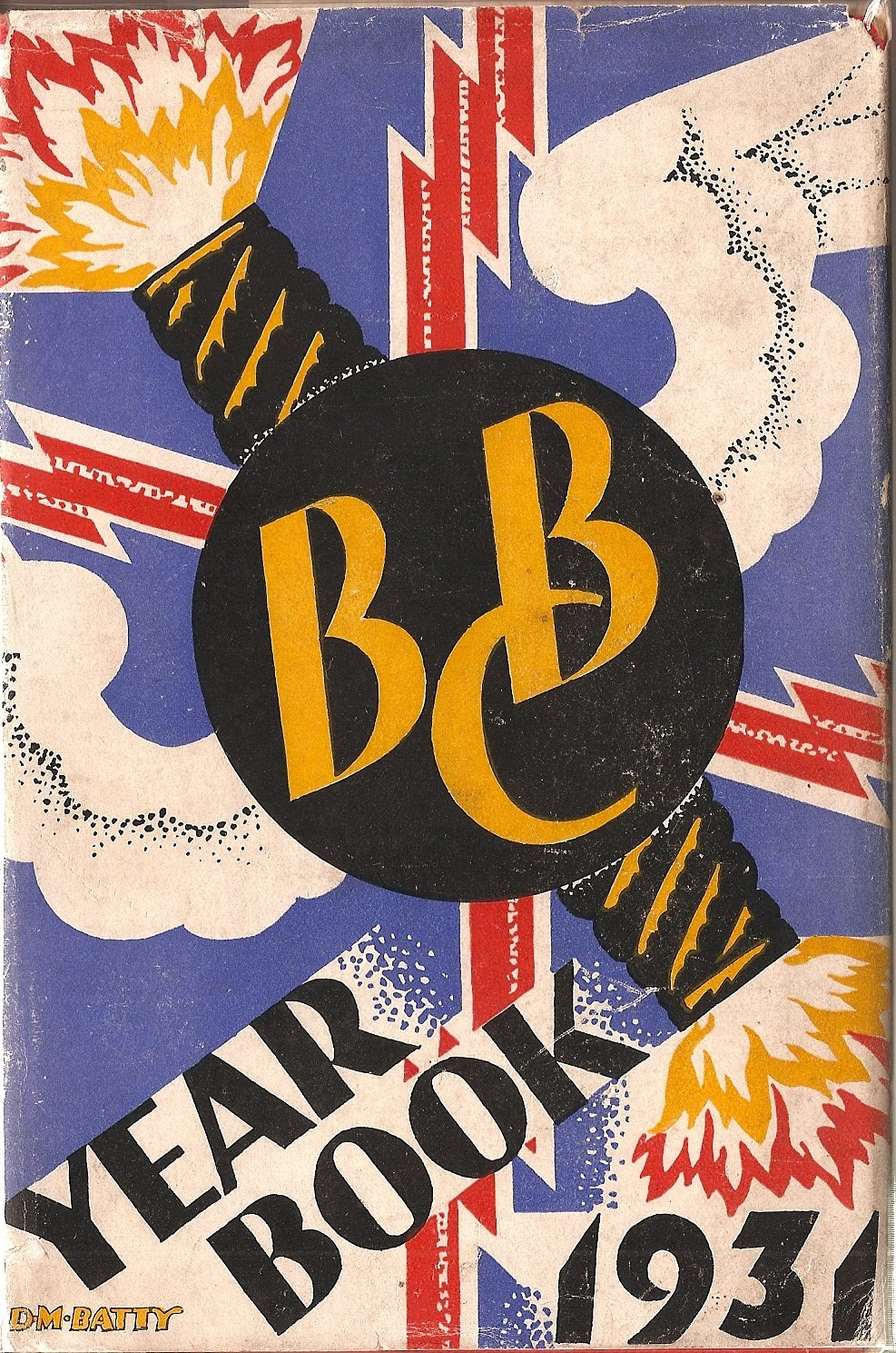 BBC Yearbook 1931 Jacket