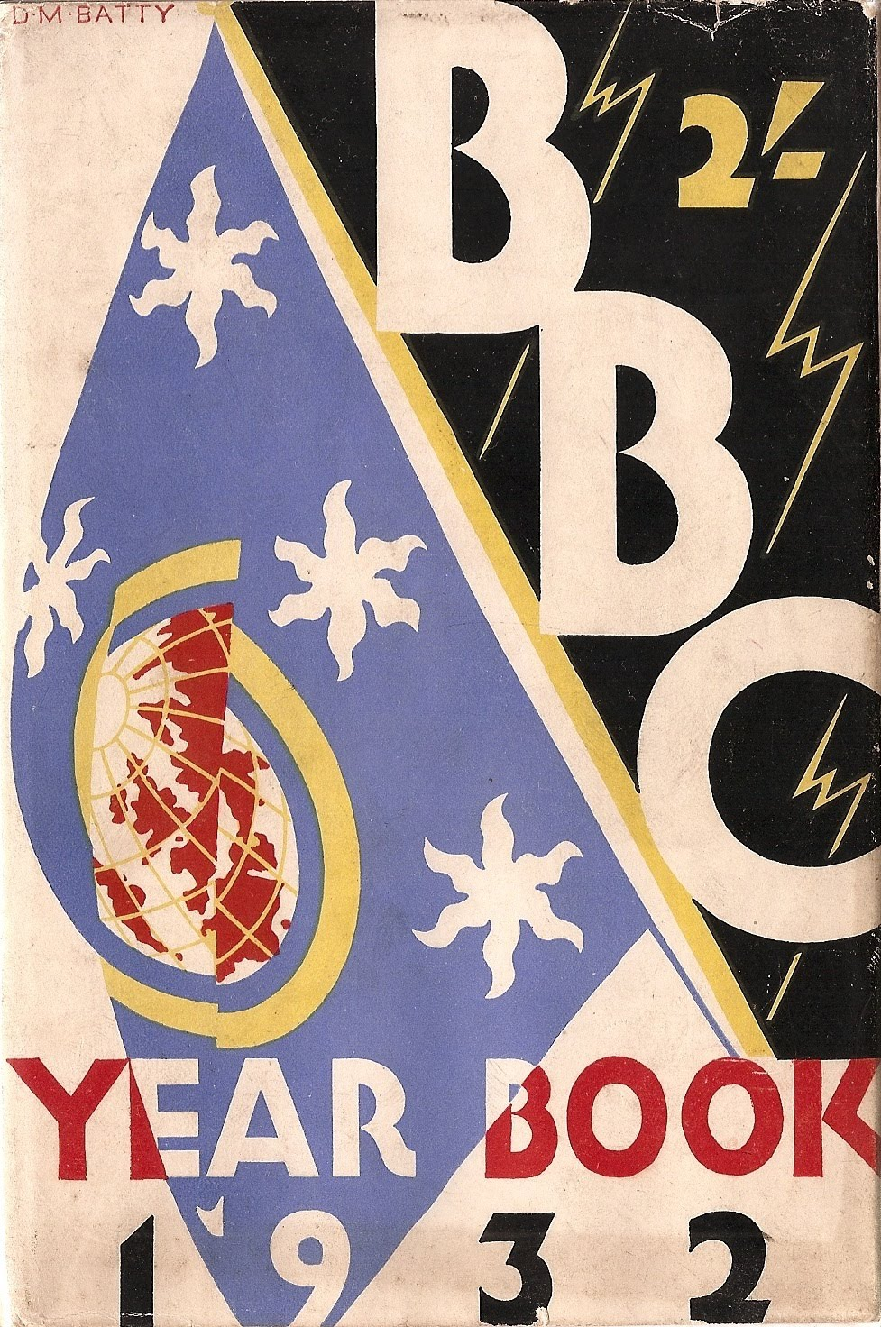 BBC Yearbook 1932 Jacket