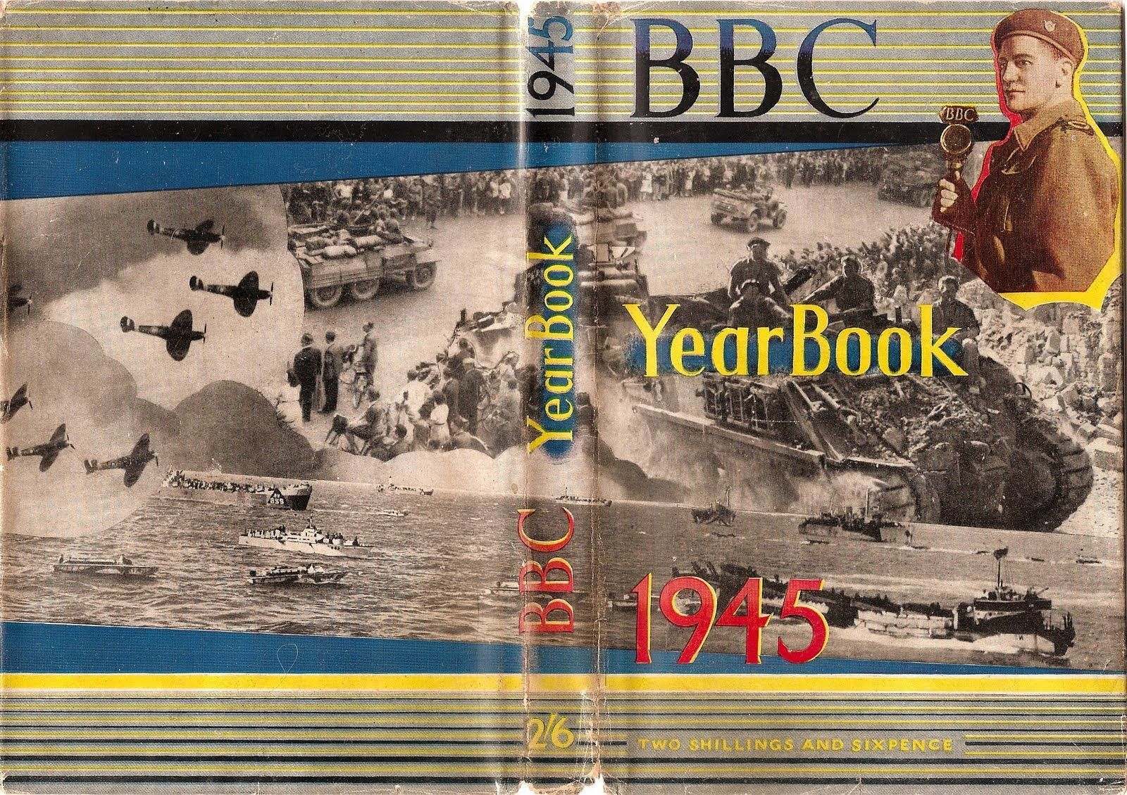 BBC Yearbook 1945 Jacket