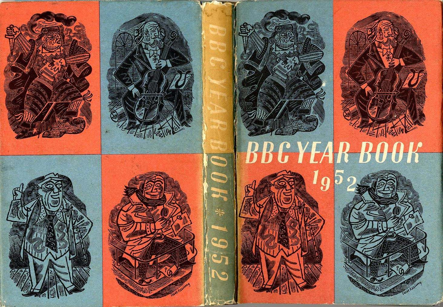 BBC Yearbook 1952 jacket