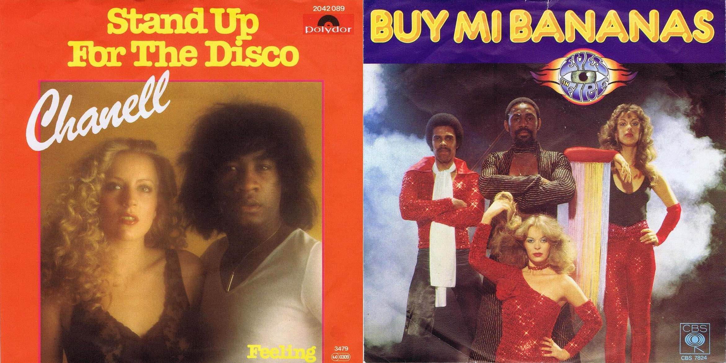 CHANELL Stand Up For The Disco German 45PS 1979