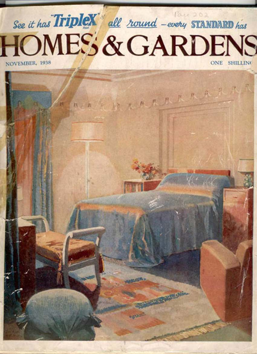 The November 1938 issue of Homes and Gardens