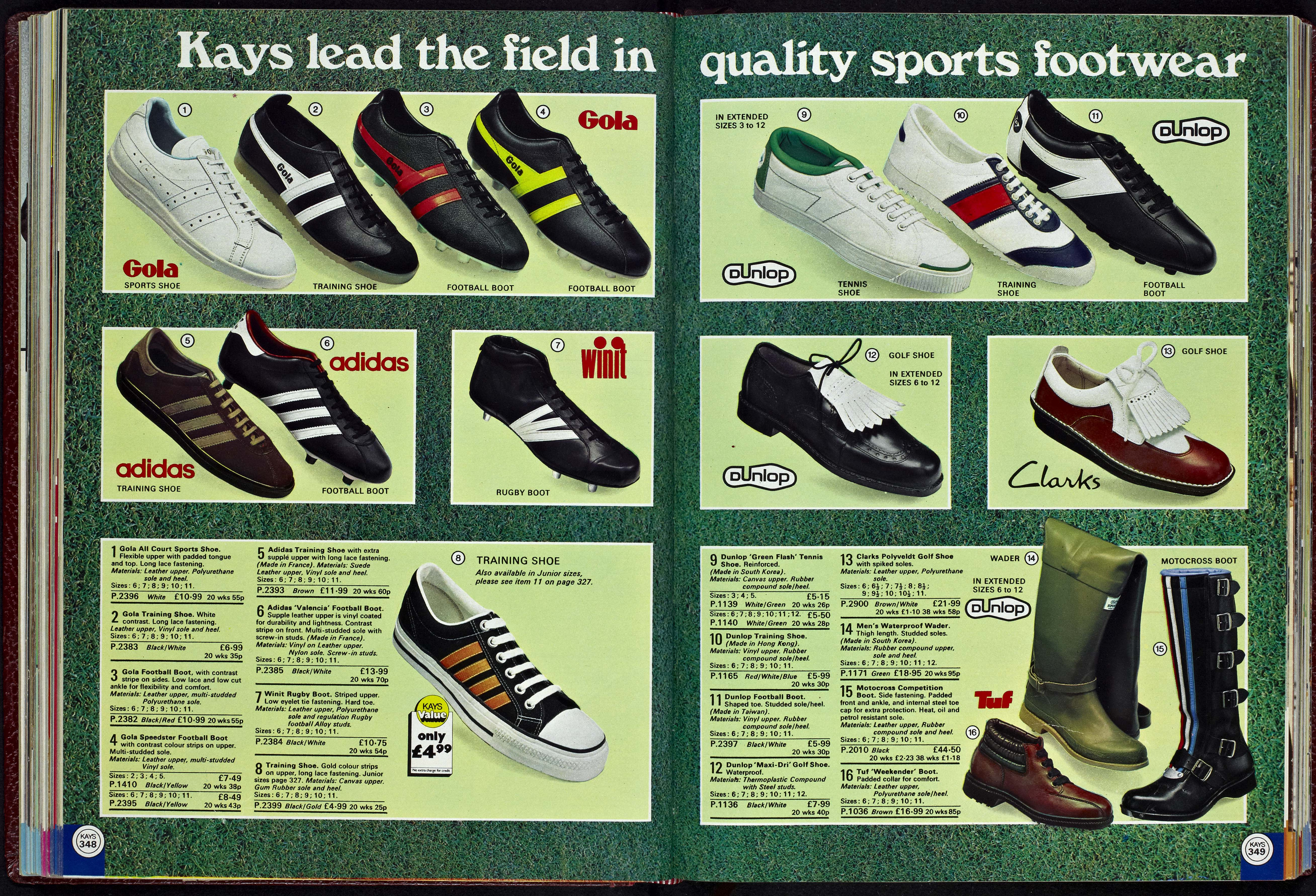 Kays Trainers 1977