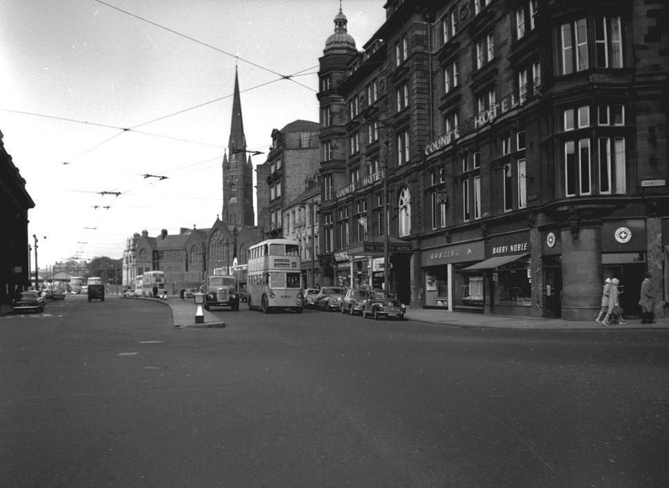 Neville Street, Newcastle upon Tyne, 1961.