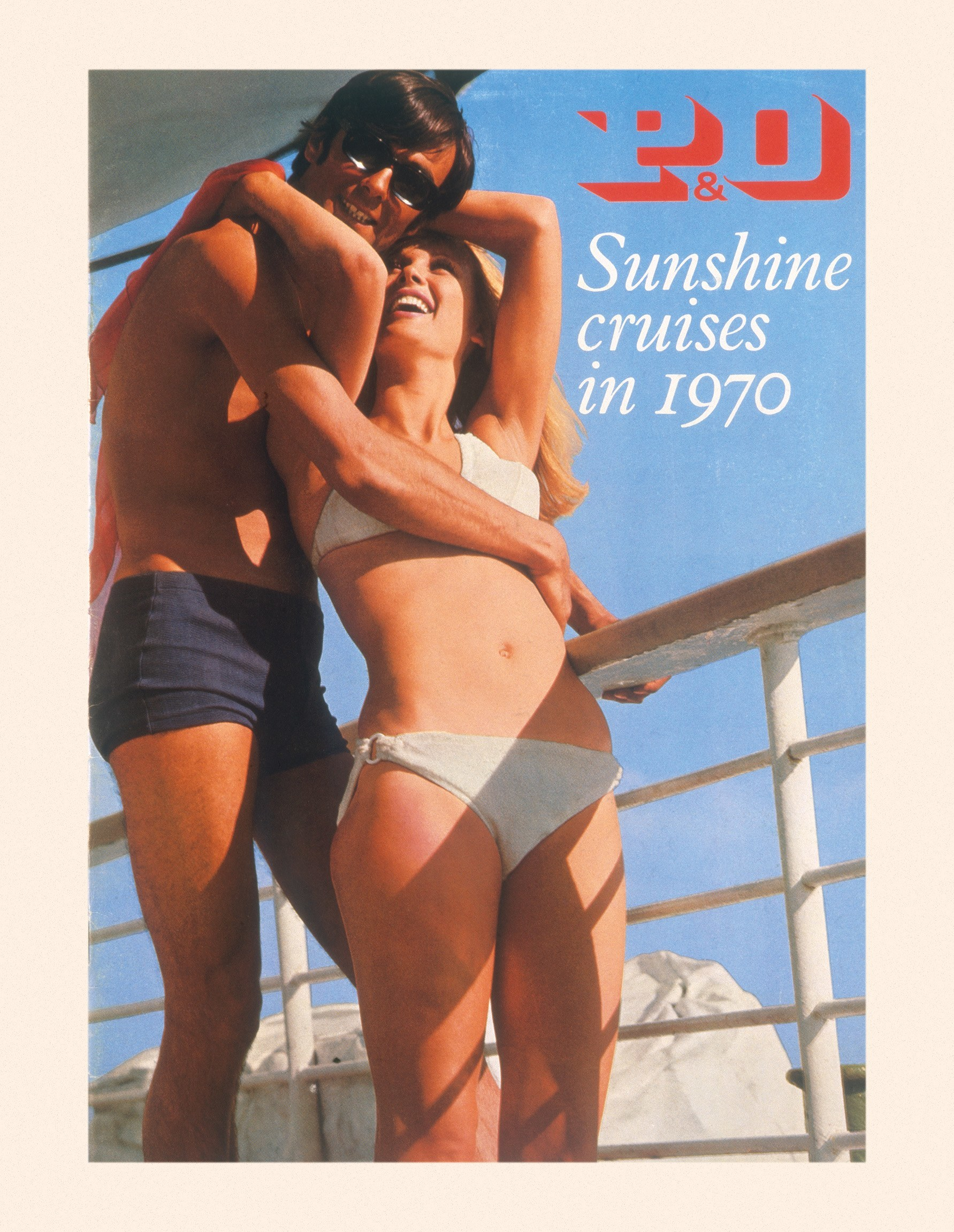 P&O Sunshine Cruises in 1970.