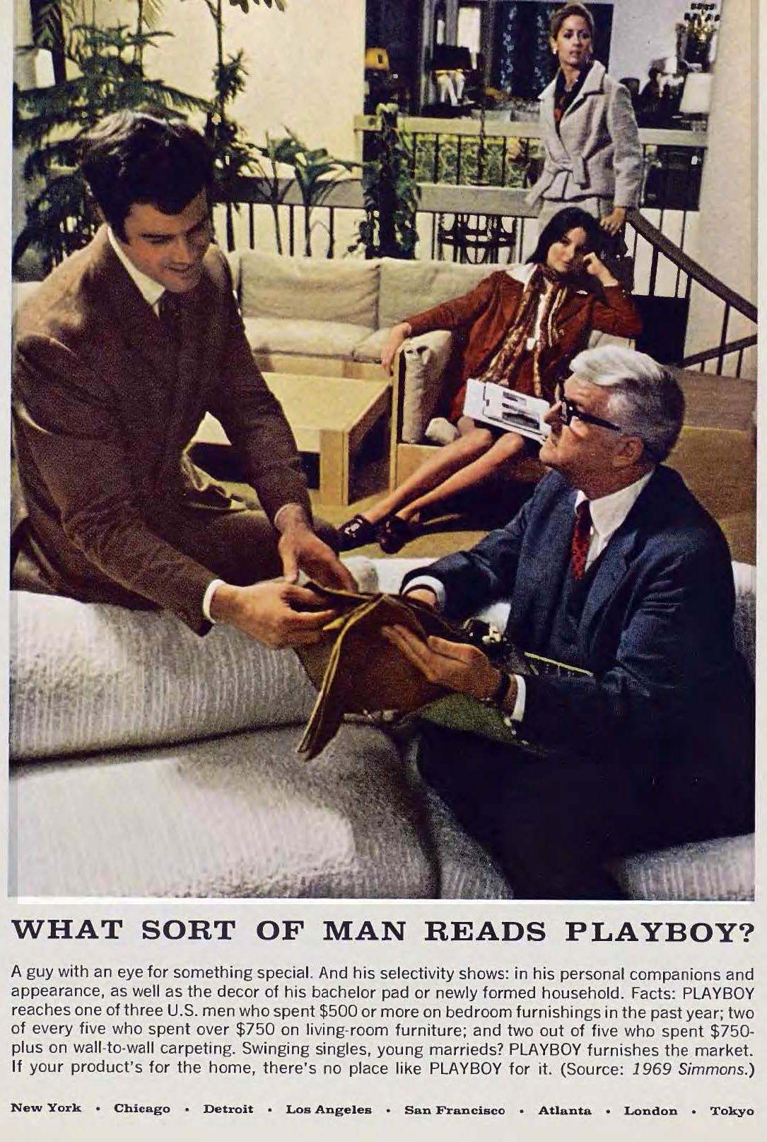 What Sort Of Man Reads Playboy The Ultimate Male