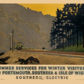 Symphonies of Brown and Green – Ten British Pre-war British Travel Posters