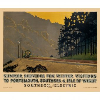 Symphonies of Brown and Green – Beautiful British Pre-war British Travel Posters