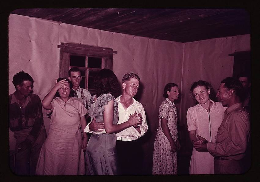 Square Dance in McIntosh County, Oklahoma 1