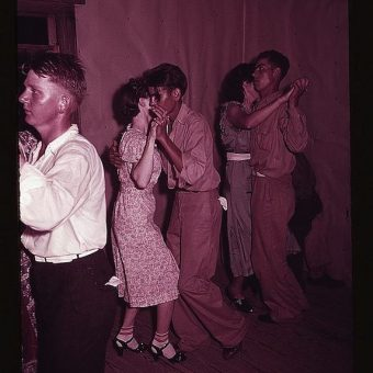 A Square Dance in McIntosh County, Oklahoma (1940)