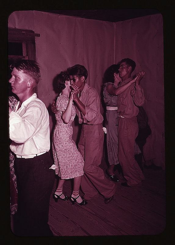 Square Dance in McIntosh County, Oklahoma 1940 4