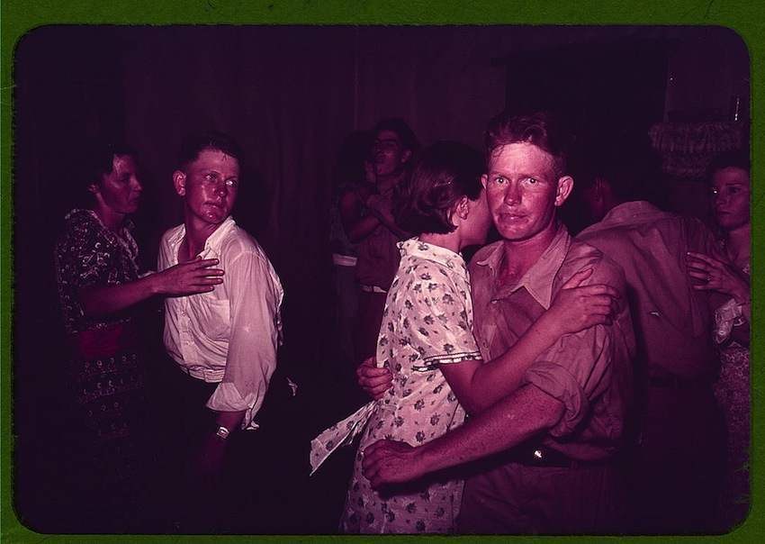 Square Dance in McIntosh County, Oklahoma 1940