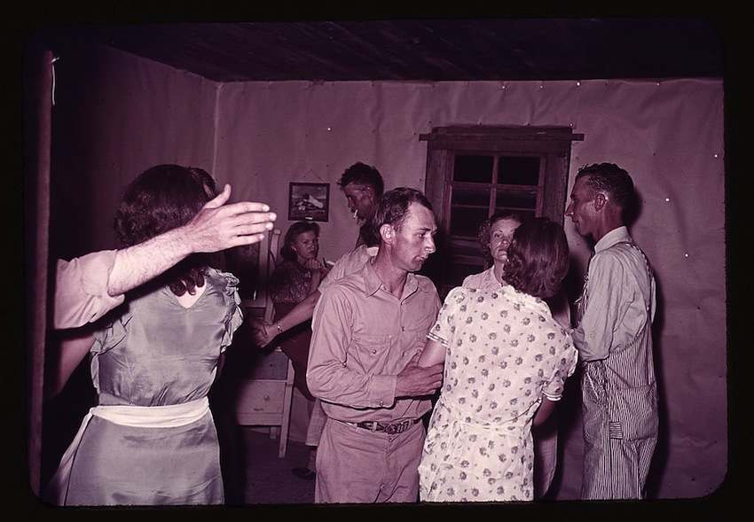 Square Dance in McIntosh County, Oklahoma 6